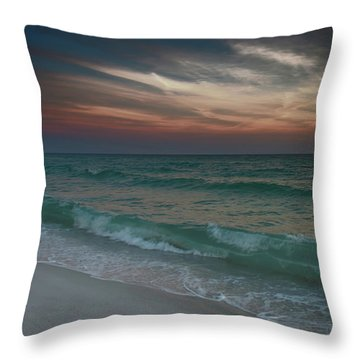 Throw Pillow featuring the photograph Tranquil Evening by Renee Hardison