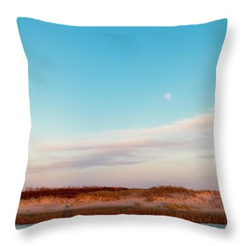 Tranquil Heaven Throw Pillow by Betsy Knapp