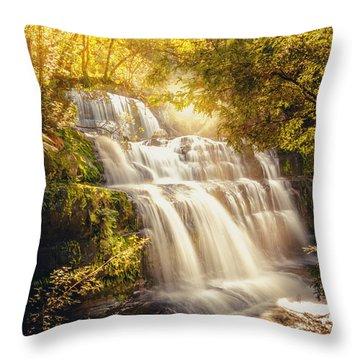 Tranquil Tasmania Throw Pillow