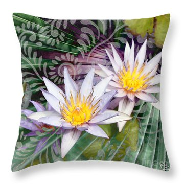Tranquilessence Throw Pillow by Christopher Beikmann
