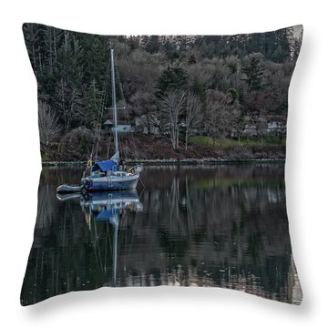 Tranquility 9 Throw Pillow