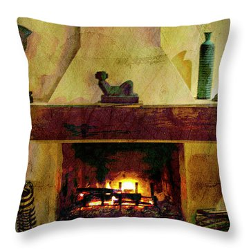 Tranquility Throw Pillow by Al Bourassa