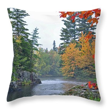 Autumn Tranquility Throw Pillow