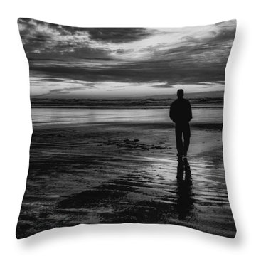 Tranquility Throw Pillow by Jacqui Boonstra