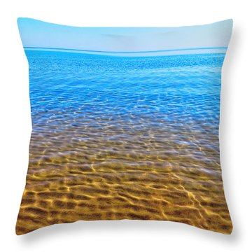 Throw Pillow featuring the photograph Tranquility by Kathleen Sartoris