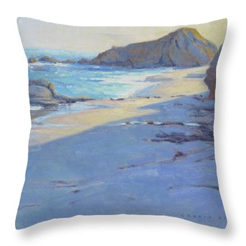 Tranquility Study / Laguna Beach Throw Pillow