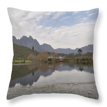 Tranquility Throw Pillow by Linda Ferreira