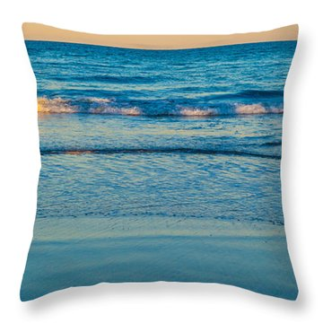 Throw Pillow featuring the photograph Tranquility by Michelle Wiarda