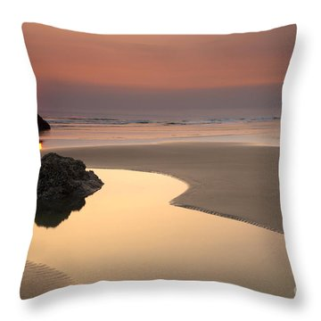 Tranquility Throw Pillow by Mike  Dawson