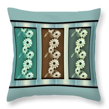 Tranquility  Throw Pillow by Sherry Dee Flaker