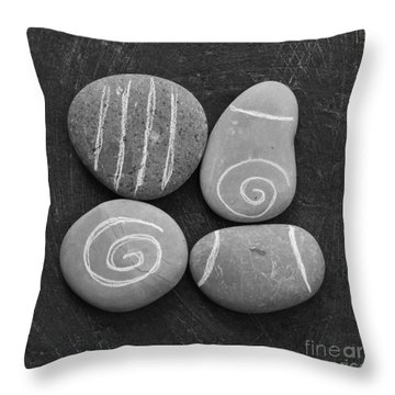 Tranquility Stones Throw Pillow