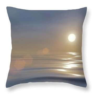 Tranquillity Throw Pillow by Wim Lanclus