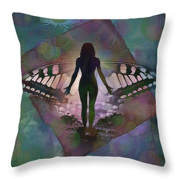 Transcend 2015 Throw Pillow