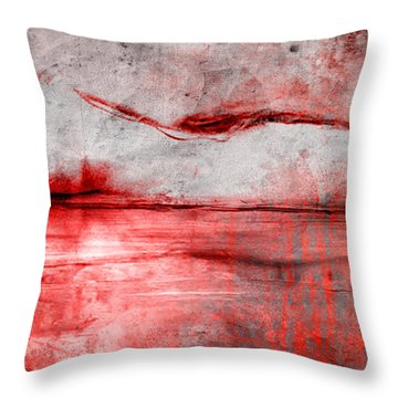 Transcend Throw Pillow by Greg Sharpe