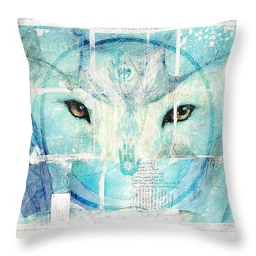 Transcend Throw Pillow