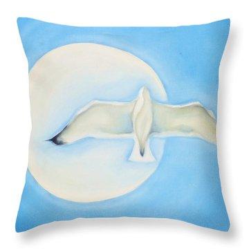 Transcendence Throw Pillow by Denise Fulmer