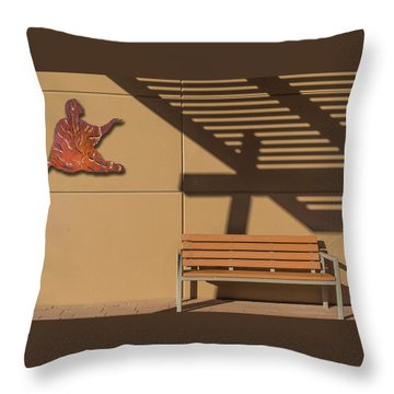Transcendental Throw Pillow by Paul Wear