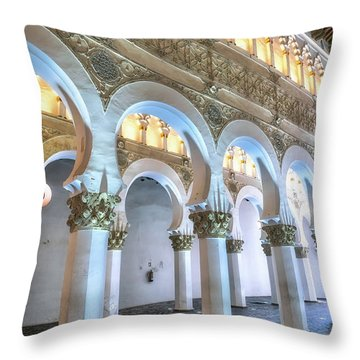 Transcept Throw Pillow