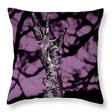 Transference Throw Pillow