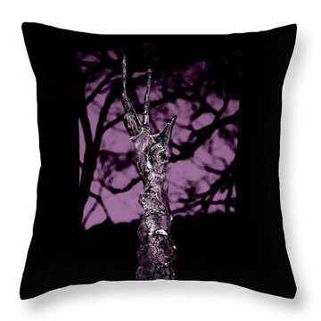 Transference Throw Pillow by Danielle R T Haney