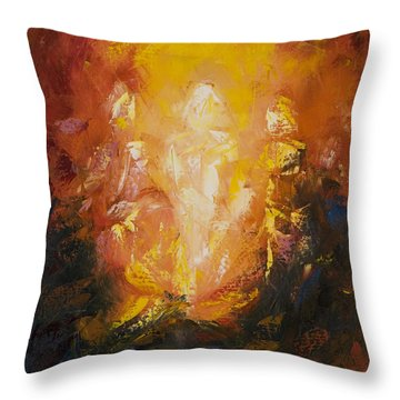 Transfiguration Throw Pillow