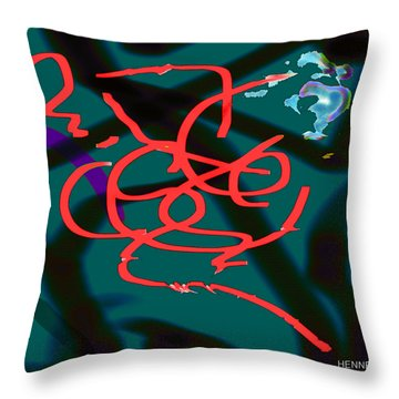 Transformation  Throw Pillow by Robert Henne