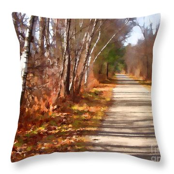 Throw Pillow featuring the photograph Transformed by Betsy Zimmerli