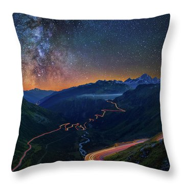 Transience And Eternity Throw Pillow