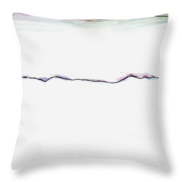 Transience Throw Pillow by Andy  Mercer