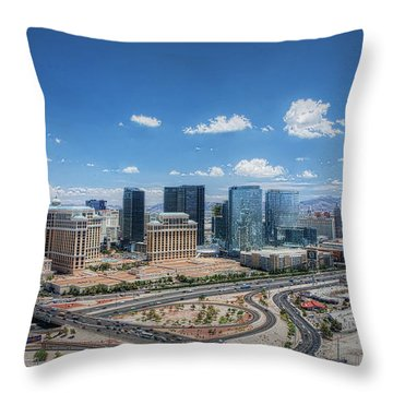 Throw Pillow featuring the photograph Transient - Day by Ryan Smith