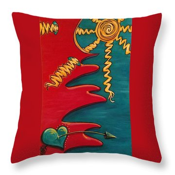 Transilience Throw Pillow