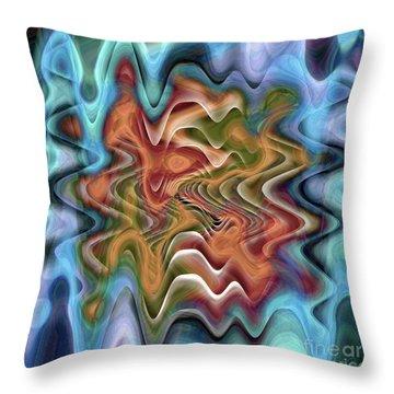 Transition Flow Throw Pillow