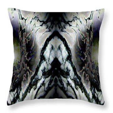 Transitional Leap Throw Pillow