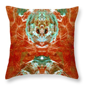 Transitioning Flow Throw Pillow