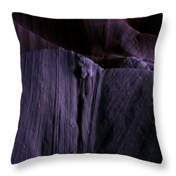 Transitions Throw Pillow by Mike  Dawson