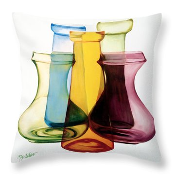 Transparencies Throw Pillow