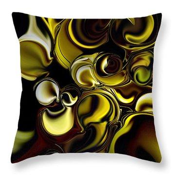 Transparent Dimension Throw Pillow