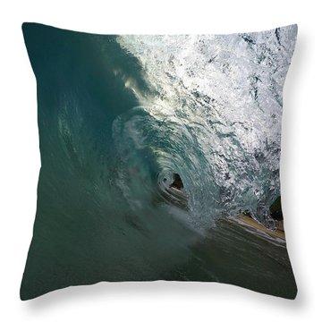 Transparent Slab Throw Pillow