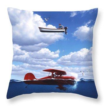 Transportation Throw Pillow