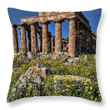 Trapani, Sicily Throw Pillow