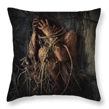 Roots Throw Pillows