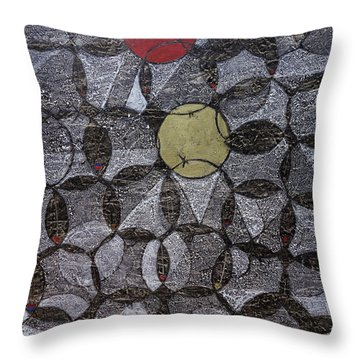 Trapped/stranded Throw Pillow