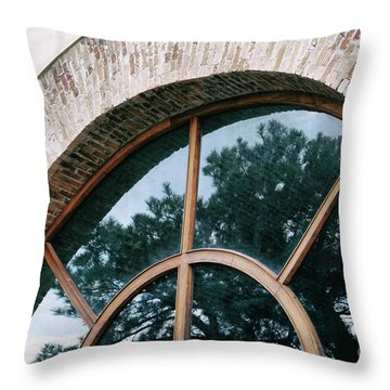 Trapped Tree Throw Pillow
