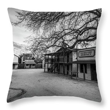 Trapper Street Throw Pillow