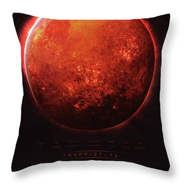 Trappist-1b Throw Pillow