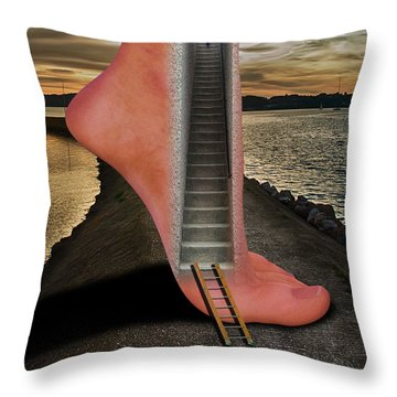 Travel And Adventure Throw Pillow
