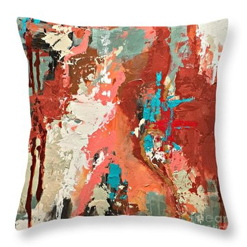 Traveler Throw Pillow