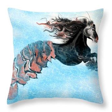Traveler Throw Pillow