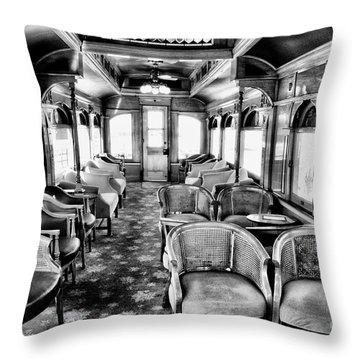 Throw Pillow featuring the photograph Traveling In Style by Paul W Faust - Impressions of Light