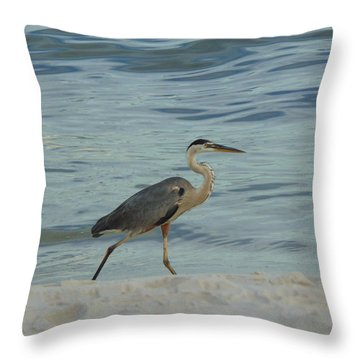 Ocean Wanderer Throw Pillow